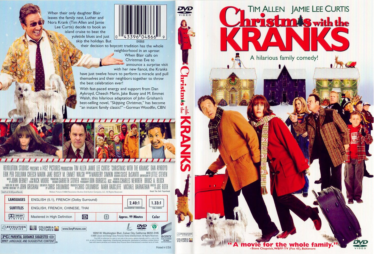 jamie lee curtis kranks - Christmas With The Kranks Trailer