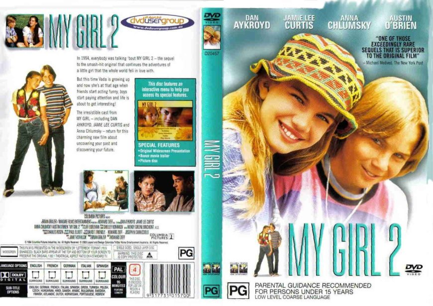 my_girl_2_custom-cdcovers_cc-front