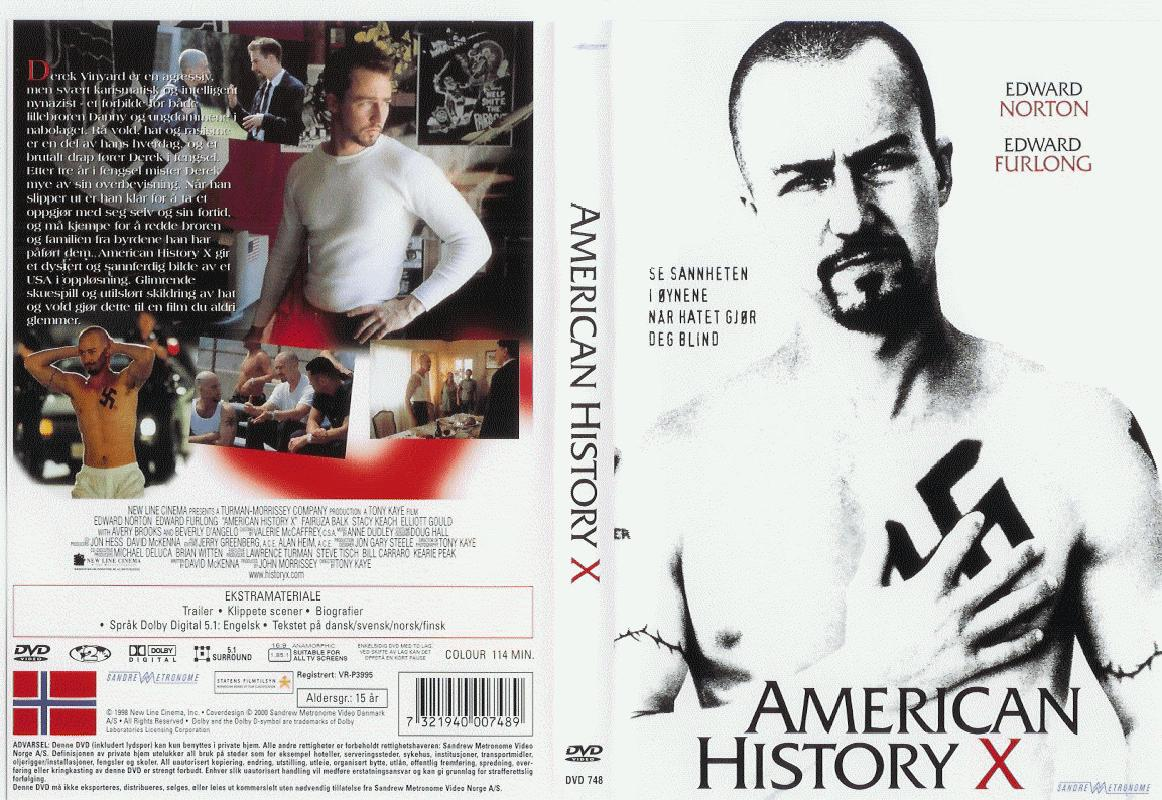 "american history x analysis key themes In american history x, the key determinant ideal is the ""capacity of oneself to change"" that is, our behavior is a result of environmentally deterministic events, and thus we have the ability to change our thoughts, our behavior, and our life situation."