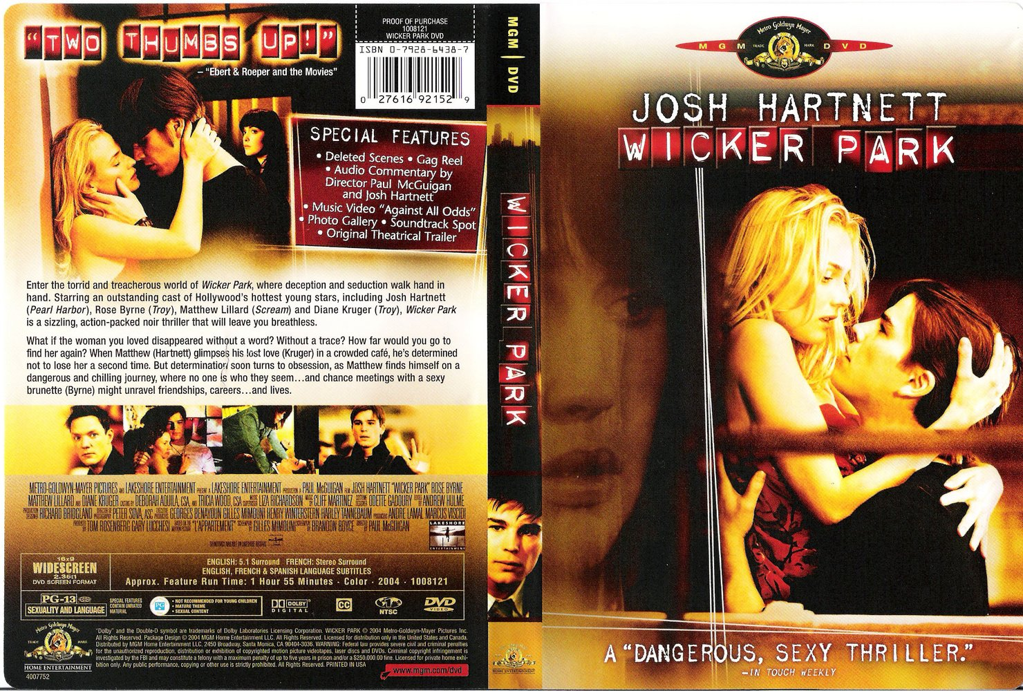 Jaquette dvd rencontre a wicker park