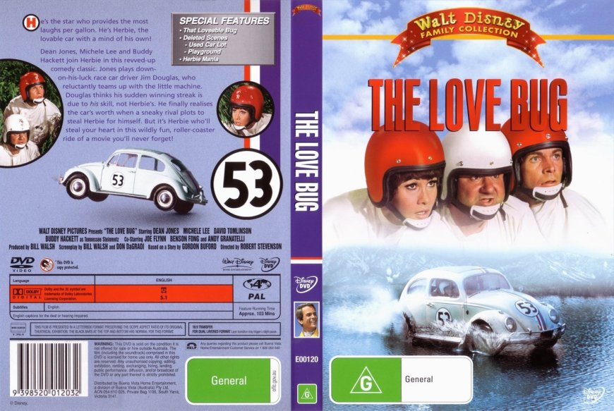 The_Love_Bug_Walt_Disney_Family_Collection_Australian-[cdcovers_cc]-front